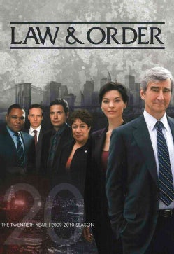 Law & Order: The Twentieth Year (DVD)