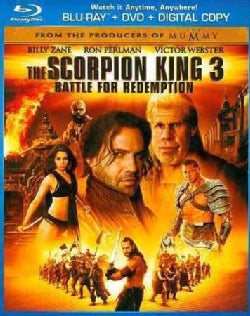 The Scorpion King 3: Battle For Redemption (Blu-ray/DVD)