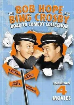 The Bob Hope And Bing Crosby Road To Comedy Collection (DVD)