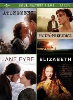 Atonement/Pride & Prejudice/Jane Eyre/Elizabeth (DVD)
