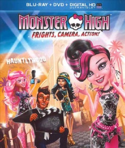 Monster High: Frights, Camera, Action! (Blu-ray/DVD)