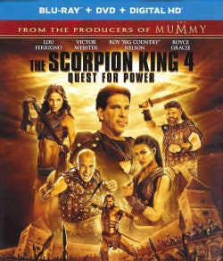 The Scorpion King 4: Quest For Power (Blu-ray/DVD)