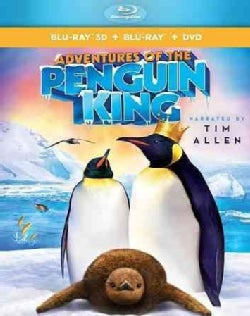 Adventures of the Penguin King 3D (Blu-ray/DVD)