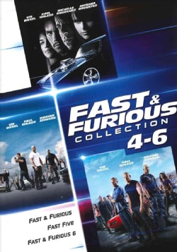 Fast & Furious Collection 4-6 (DVD)