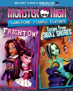 Monster High: Escape From Skull Shores/Fright On! (Blu-ray/DVD)