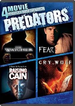 The Watcher/Fear/Raising Cain/Cry Wolf (DVD)