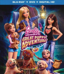 Barbie & Her Sisters In The Great Puppy Adventure (Blu-ray Disc)