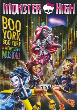 Monster High: Boo York, Boo York (DVD)