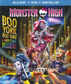 Monster High: Boo York, Boo York (Blu-ray Disc)