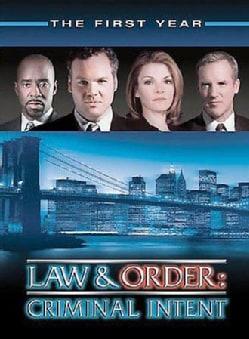 Law & Order: Criminal Intent Season 1 (DVD)