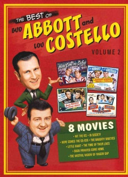 The Best Of Bud Abbott And Lou Costello Vol. 2 (DVD)