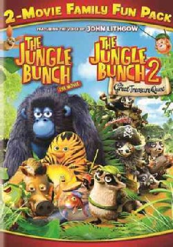 The Jungle Book 2-Movie Family Fun Pack (DVD)