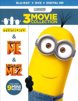 Despicable Me 3-Movie Collection (Blu-ray/DVD)