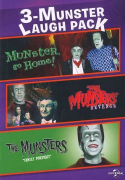 3-Munster Laugh Pack: Munster, Go Home/The Munsters's Revenge/The Munsters: Family Portrait