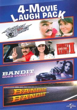 4-Movie Laugh Pack: Smokey And The Bandit/Smokey And The Bandit II/Bandit Goes Country/Bandit, Bandit