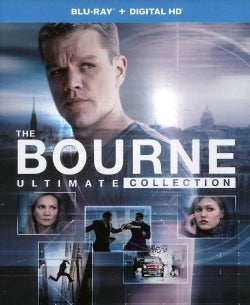 The Jason Bourne Ultimate Collection (Blu-ray Disc)
