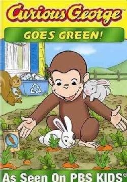 Curious George Goes Green! (DVD)