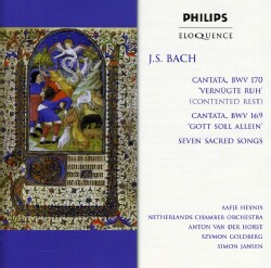 Netherlands Chamber Orchestra - Bach: Cantatas Bwv 170 & 169, Sacred Songs