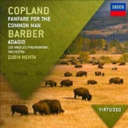 Zubin Mehta - Virtuoso: Copland/Barber- Fanfare For The Common Man/Adagio