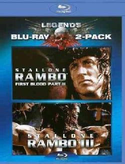 Rambo First Blood Part 2/Rambo First Blood Part 3 (Blu-ray Disc)