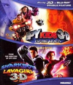 Spy Kids 3-D: Game Over/The Adventures Of Sharkboy And Lavagirl (Blu-ray Disc)