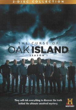 The Curse Of Oak Island (DVD)
