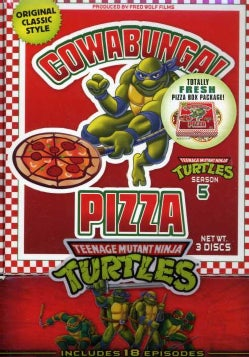 Teenage Mutant Ninja Turtles Season 5 (DVD)