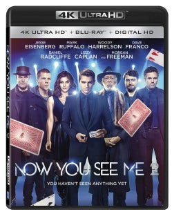 Now You See Me 2 (4K Ultra HD Blu-ray)