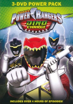 Power Rangers Dino Charge 3-Pack (DVD)