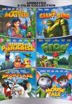 Family Animated 6 Film Collection (DVD)