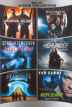 Sci-Fi 6 Film Collection (DVD)