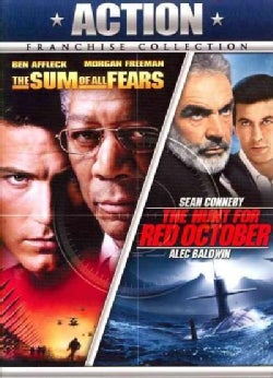The Hunt For Red October/The Sum Of All Fears (DVD)