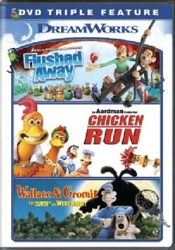 Flushed Away/Chicken Run/Wallace & Gromit (DVD)