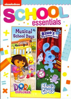 Dora The Explorer & Blue's Clues: Dora Musical School Days & Blue's Big Musical Movie (DVD)