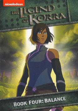 Legend Of Korra: Book Four: Balance (DVD)