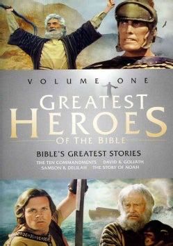 Greatest Heroes Of The Bible Vol. 1/The Bible's Greatest Stories: The Ten Commandments/The Story Of Noah/David & Goliat... (DVD)