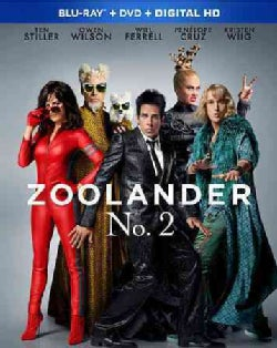 Zoolander No. 2: The Magnum Edition (Blu-ray/DVD)