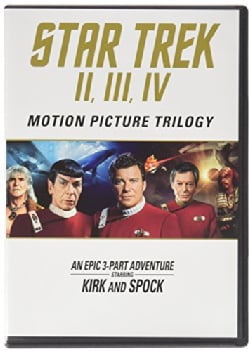 Star Trek: Motion Picture Trilogy (Blu-ray Disc)
