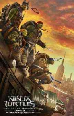 Teenage Mutant Ninja Turtles: Out Of The Shadows (Blu-ray/DVD)