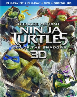 Teenage Mutant Ninja Turtles: Out Of The Shadows 3D (Blu-ray/DVD)