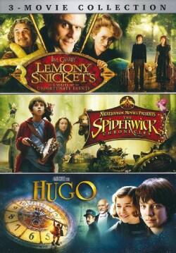 Lemony Snicket's/Spiderwick Chronicles/Hugo 3-Movie Collection