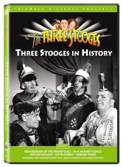 Three Stooges: Stooges in History (DVD)