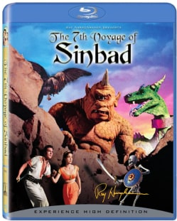 The 7th Voyage of Sinbad: 50th Anniversary Edition (Blu-ray Disc)