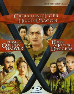 Crouching Tiger, Hidden Dragon/Curse of The Golden Flower/House of Flying Daggers (Blu-ray Disc)