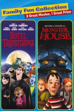 Hotel Transylvania/Monster House (DVD)