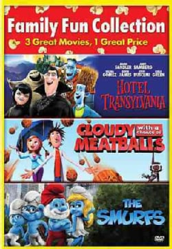 Cloudy With A Chance Of Meatballs/Hotel Transylvania/The Smurfs (DVD)