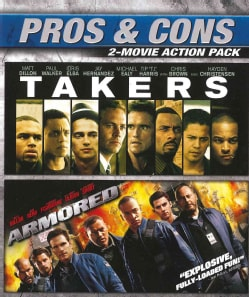 Armored/Takers (Blu-ray Disc)
