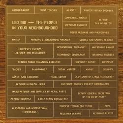 Led Bib - The People in Your Neighbourhood