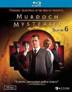 Murdoch Mysteries: Season 6 (Blu-ray Disc)