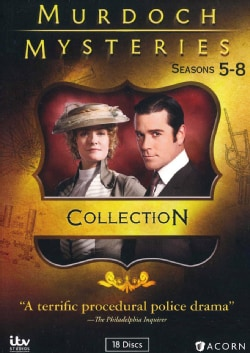 Murdoch Mysteries: Collection 5-8 (DVD)